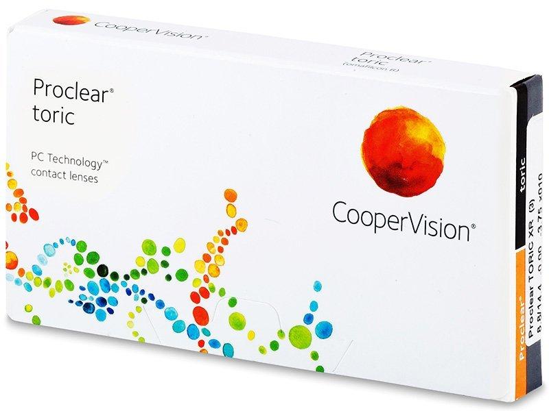 Proclear Toric XR (3leče) - Torične kontaktne leče