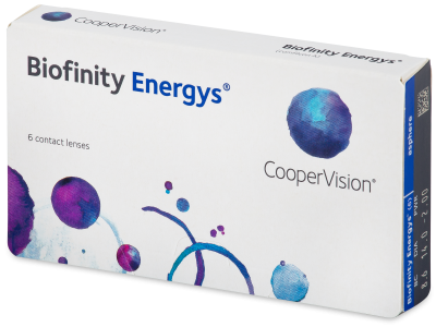 Biofinity Energys (6 leč)