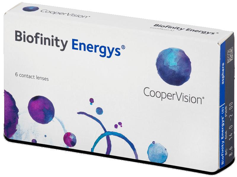 Biofinity Energys (6 leč) - Mesečne kontaktne leče