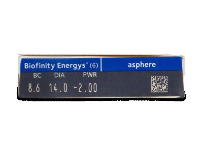 Biofinity Energys (6 leč) - Predogled lastnosti