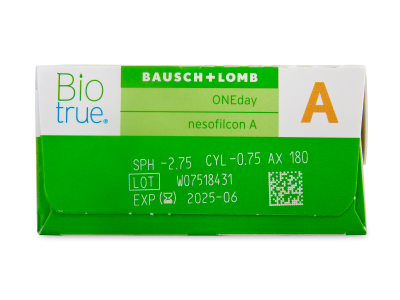 Biotrue ONEday for Astigmatism (90 leč) - Predogled lastnosti