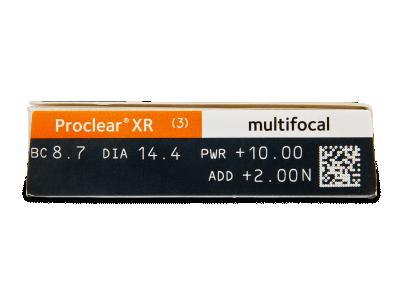 Proclear Multifocal XR (3leče) - Predogled lastnosti