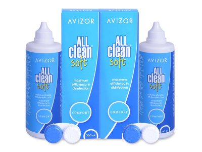 Tekočina Avizor All Clean Soft  2x350 ml