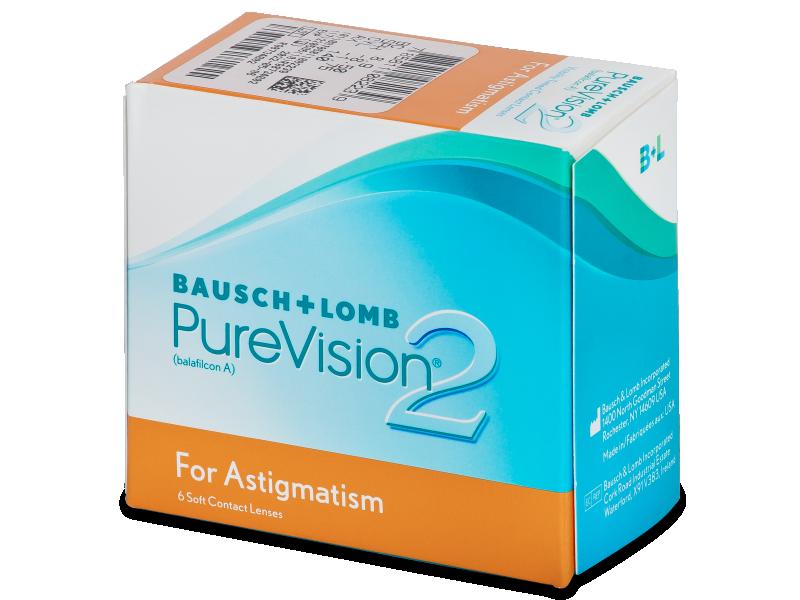 PureVision 2 for Astigmatism (6leč) - Torične kontaktne leče