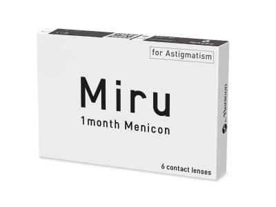 Miru 1 Month Menicon for Astigmatism (6 leč) - Starejši dizajn