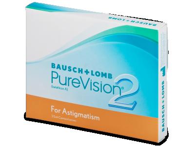PureVision 2 for Astigmatism (3leče) - Torične kontaktne leče