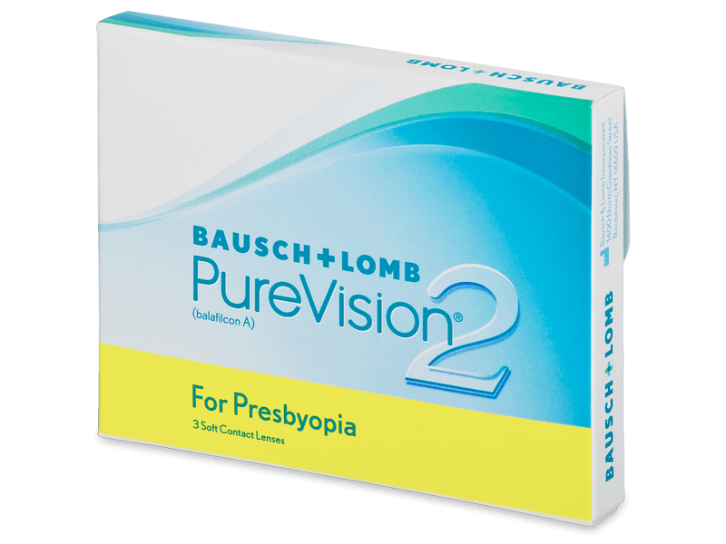 PureVision 2 for Presbyopia (3leče) - Multifokalne kontaktne leče