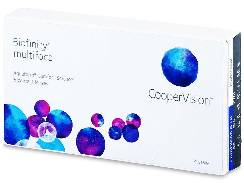 Biofinity Multifocal (6leč) - Multifokalne kontaktne leče
