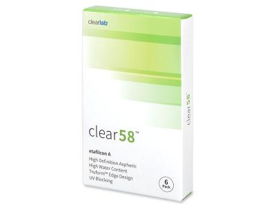 Clear 58 (6leč) - 14 dnevne kontaktne leče