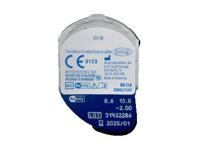 Air Optix EX (3 leče) - Predogled blister embalaže