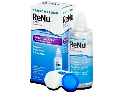 Tekočina ReNu MPS Sensitive Eyes 120 ml  - Tekočina za čiščenje