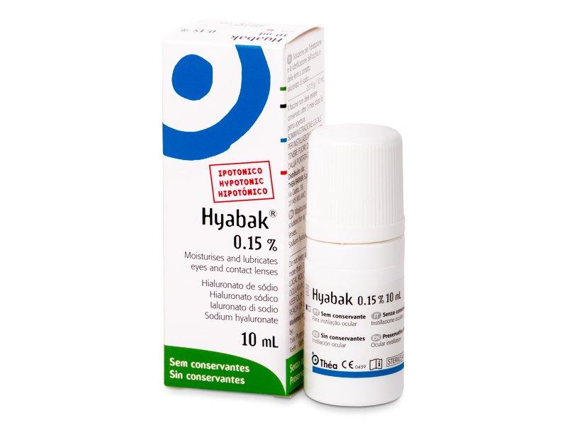 Kapljice za oči Hyabak 10 ml  - Kapljice za oči