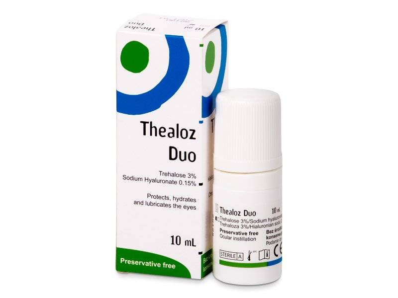 Kapljice za oči Thealoz Duo 10 ml  - Kapljice za oči