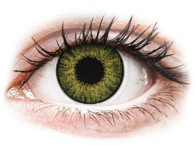 Air Optix Colors - Gemstone Green - brez dioptrije (2 leči) - Barvne kontaktne leče
