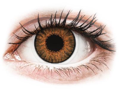 Air Optix Colors - Honey - brez dioptrije (2 leči) - Barvne kontaktne leče