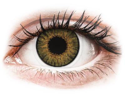 Air Optix Colors - Pure Hazel - z dioptrijo (2 leči) - Barvne kontaktne leče