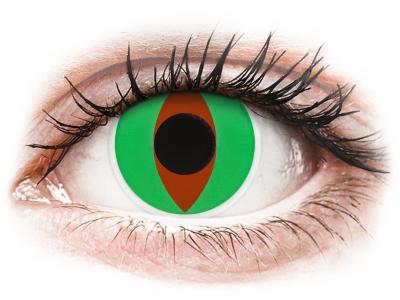 ColourVUE Crazy Lens - Raptor - brez dioptrije (2 leči)