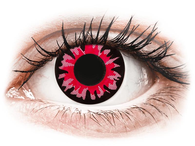 ColourVUE Crazy Lens - Volturi - brez dioptrije (2 leči) - Barvne kontaktne leče