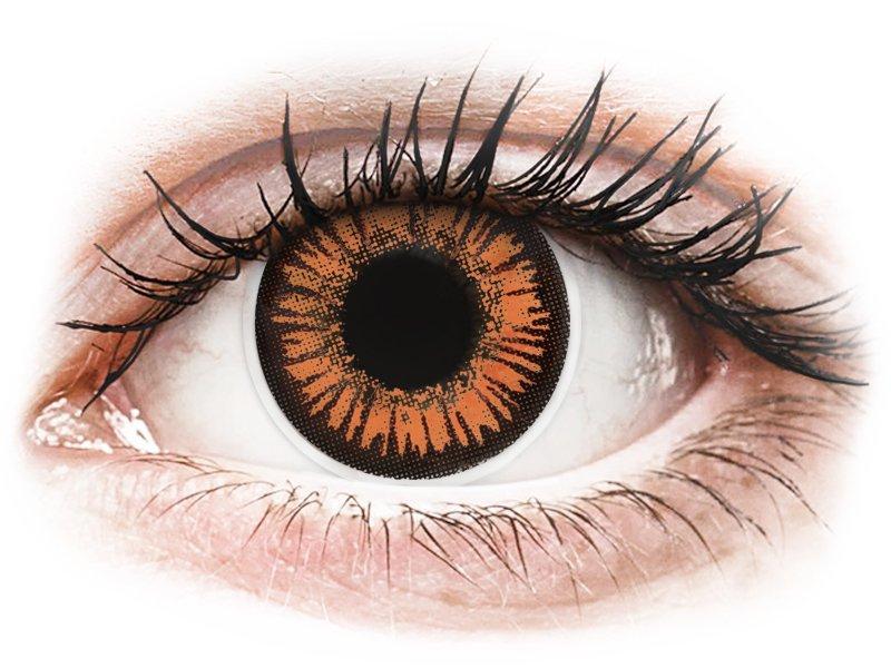 ColourVUE Crazy Lens - Twilight - z dioptrijo (2 leči) - Barvne kontaktne leče
