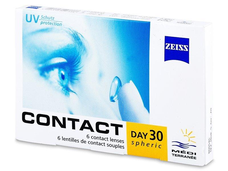 Contact Day 30 Spheric (6 leč) - Mesečne kontaktne leče