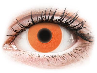 ColourVUE Crazy Glow Orange - brez dioptrije (2 leči)