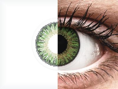 TopVue Color daily - Green - brez dioptrije (10 leč)