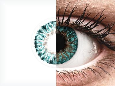 TopVue Color - Turquoise - brez dioptrije (2 leči)