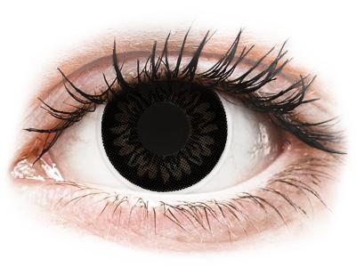 ColourVUE BigEyes Dolly Black - brez dioptrije (2 leči)