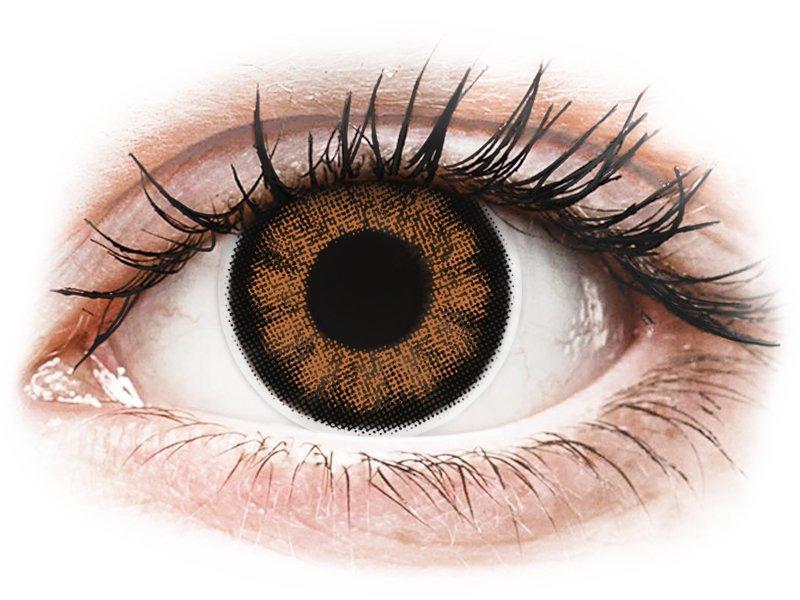 ColourVUE BigEyes Sexy Brown - brez dioptrije (2 leči)