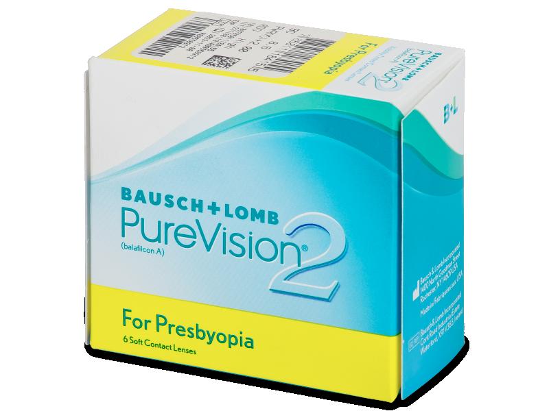 PureVision 2 for Presbyopia (6leč) - Multifokalne kontaktne leče