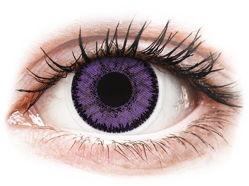 SofLens Natural Colors Indigo - brez dioptrije (2 leči) - Barvne kontaktne leče
