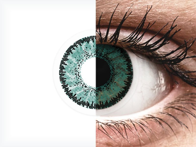 SofLens Natural Colors Jade - z dioptrijo (2 leči)