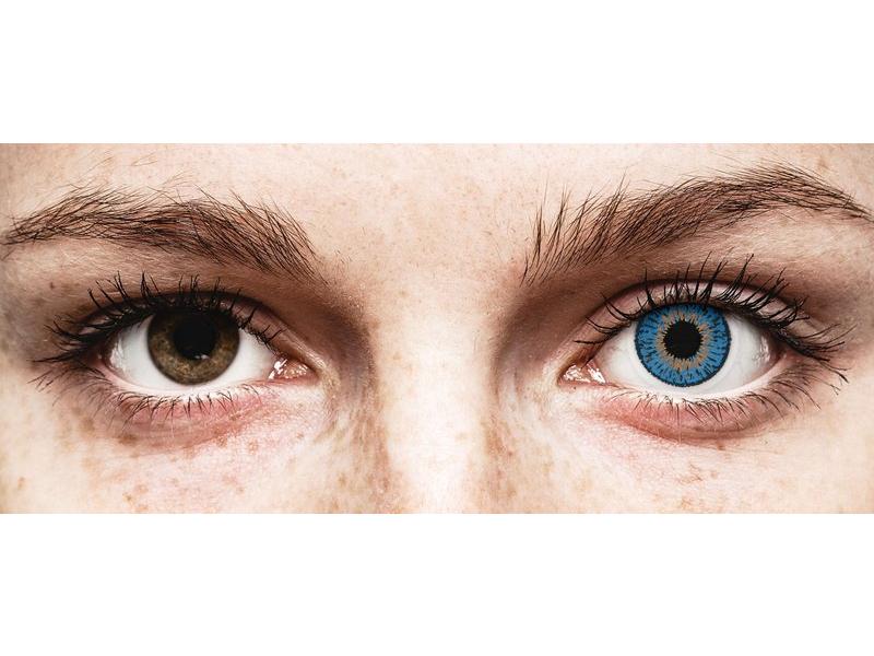 Expressions Colors Dark Blue - z dioptrijo (1 leča)