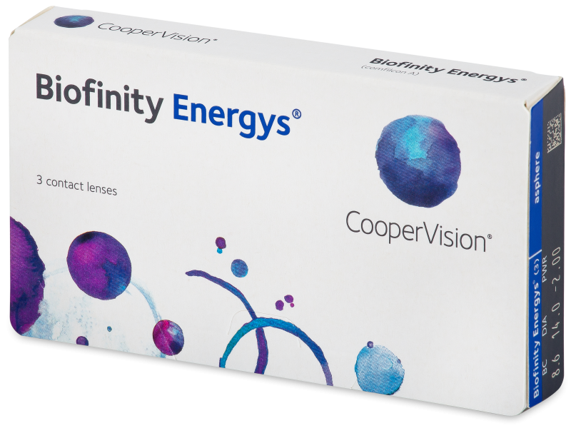 Biofinity Energys (3 leče) - Contact lenses