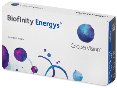 Biofinity Energys (3 leče)