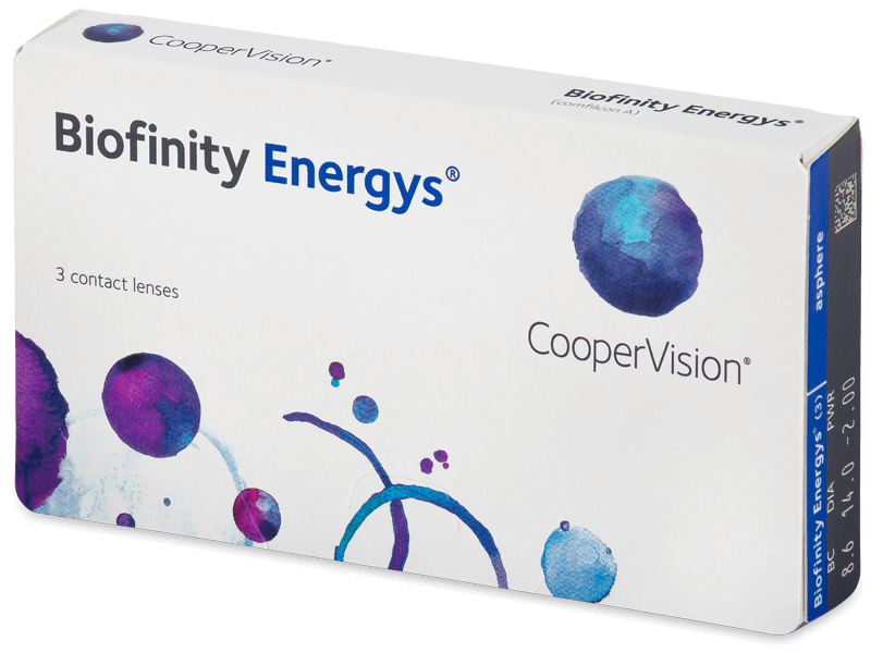 Biofinity Energys (3 leče) - Mesečne kontaktne leče