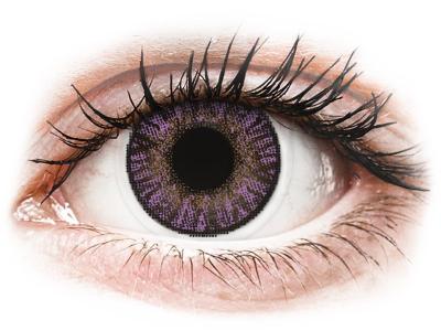 FreshLook ColorBlends Amethyst - z dioptrijo (2 leči) - Barvne kontaktne leče