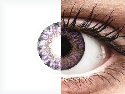 FreshLook ColorBlends Amethyst - z dioptrijo (2 leči)