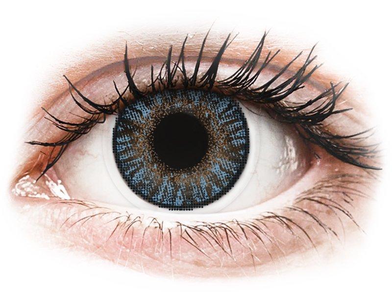 FreshLook ColorBlends Blue - z dioptrijo (2 leči) - Barvne kontaktne leče