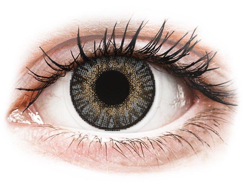 FreshLook ColorBlends Grey - z dioptrijo (2 leči) - Barvne kontaktne leče
