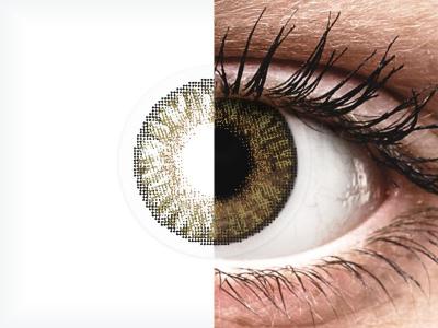 FreshLook ColorBlends Pure Hazel - z dioptrijo (2 leči)