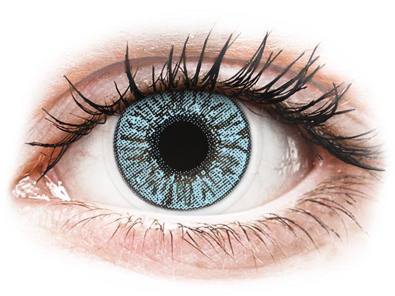 FreshLook Colors Blue - z dioptrijo (2 leči) - Barvne kontaktne leče