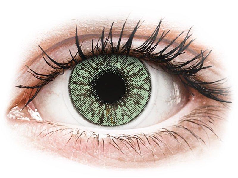 FreshLook Colors Green - z dioptrijo (2 leči) - Barvne kontaktne leče