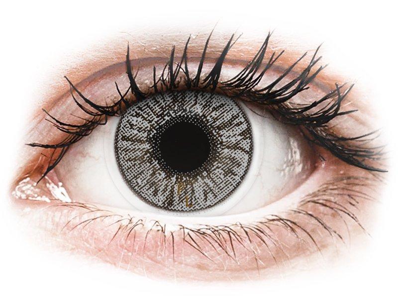 FreshLook Colors Misty Gray - z dioptrijo (2 leči) - Barvne kontaktne leče