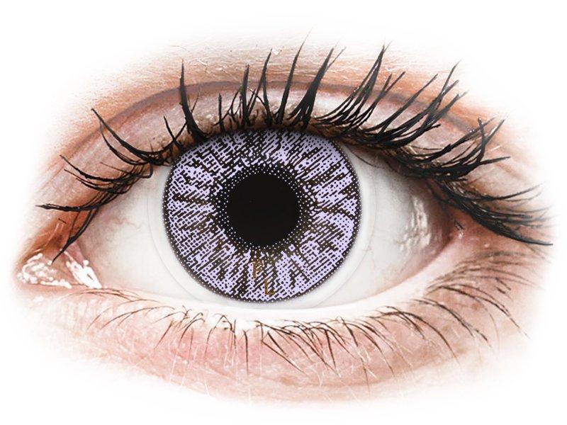 FreshLook Colors Violet - z dioptrijo (2 leči) - Barvne kontaktne leče