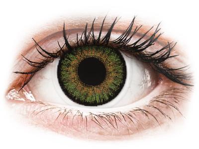 FreshLook One Day Color Green - z dioptrijo (10 leč)