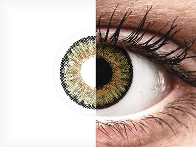 FreshLook One Day Color Pure Hazel - z dioptrijo (10 leč)