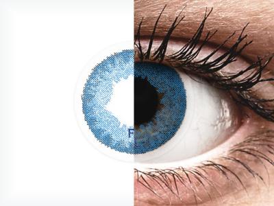 FreshLook Dimensions Pacific Blue - z dioptrijo (6 leč)