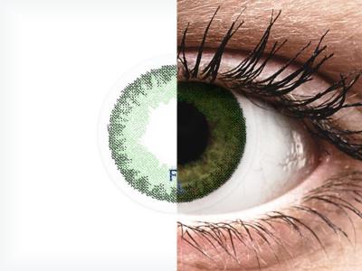 FreshLook Dimensions Sea Green - z dioptrijo (6 leč)