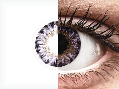 TopVue Color - Violet - brez dioptrije (2 leči)